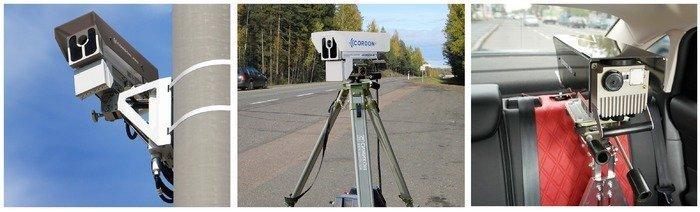 Способы установки камер: настолбе, тренога, вспецмашине.